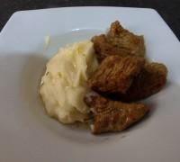 Μοσχάρι Λεμονάτο με πουρέ πατάτας 1
